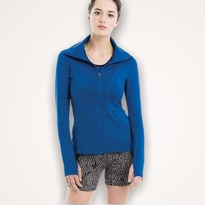 LOLE Essential Up Blue Zip-Up Jacket